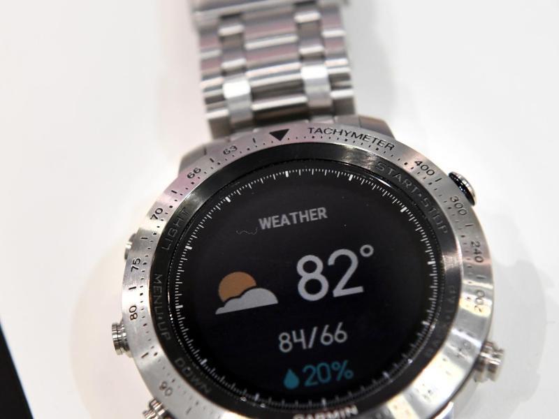 Bild zu Smartwatch fēnix Chronos von Garmin