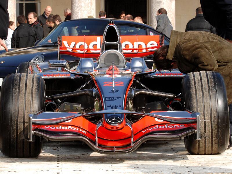 Bild zu Formel-1-Bolide von McLaren