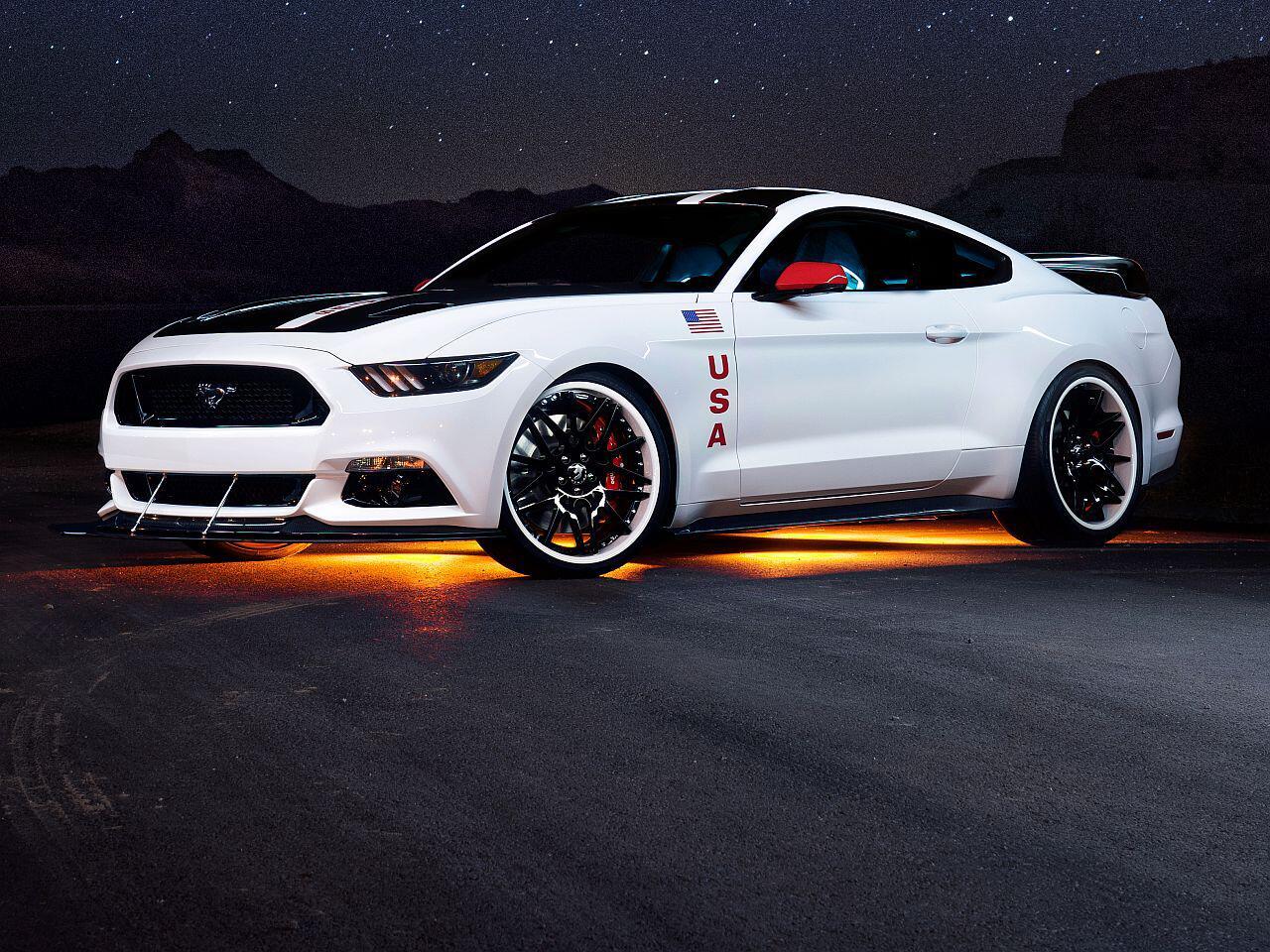 Bild zu Ford Mustang Apollo Edition