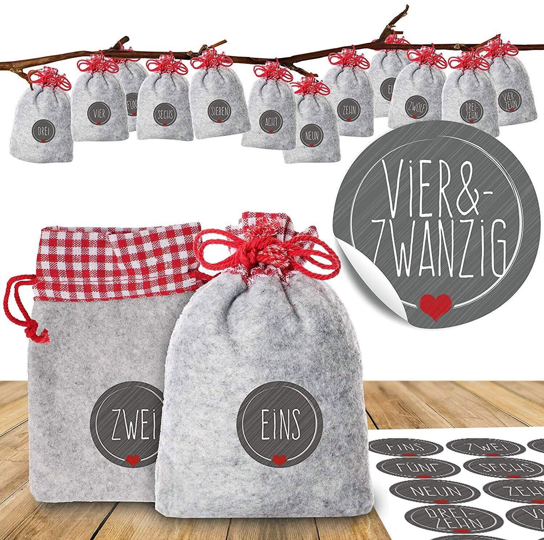 Bild zu adventskalender, weihnachten, diy, basteln, selber machen, geschenke