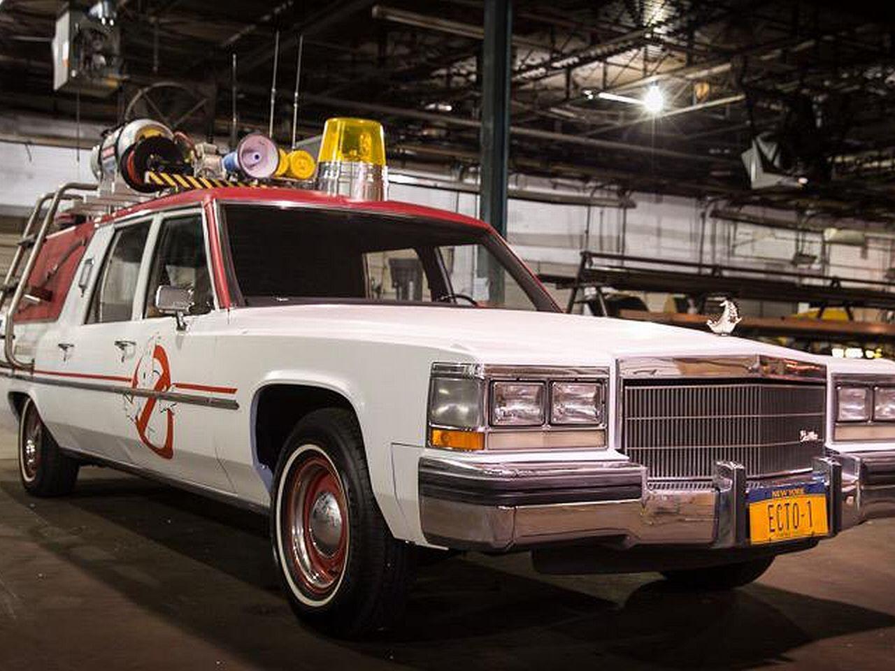 """Bild zu """"Ghostbusters""""-Dienstfahrzeug"""