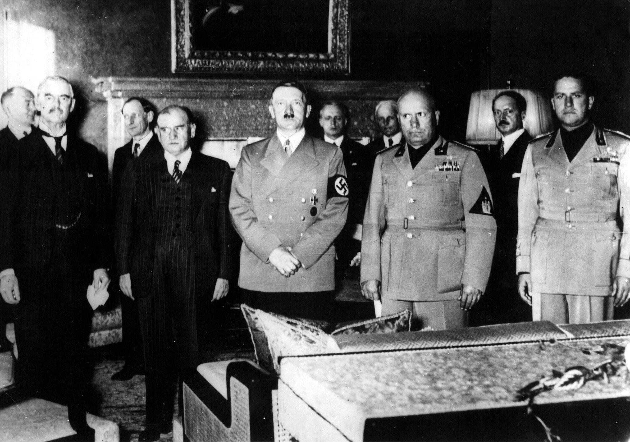 Bild zu Münchner Konferenz 1938