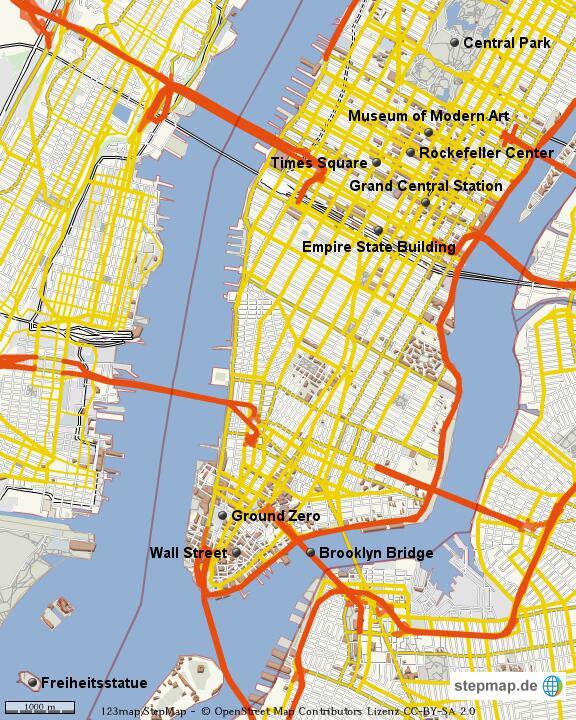 Und Dahinter Liegt New York