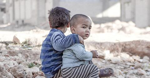 Syrien, Kinder, Krieg