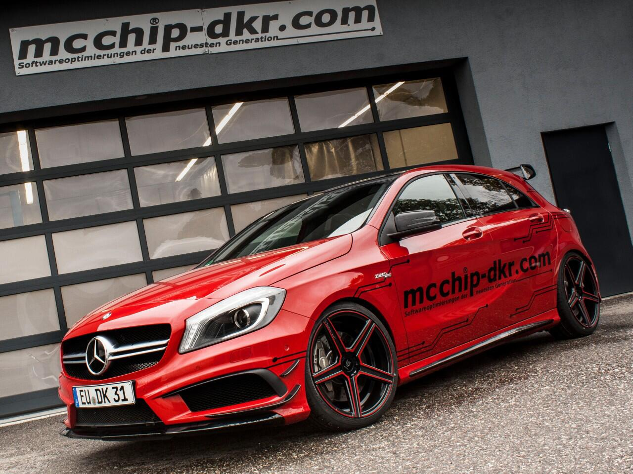 Bild zu mcchip-dkr Mercedes A 45 AMG
