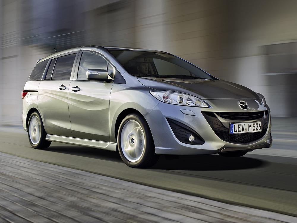 Bild zu Platz 1: Mazda5