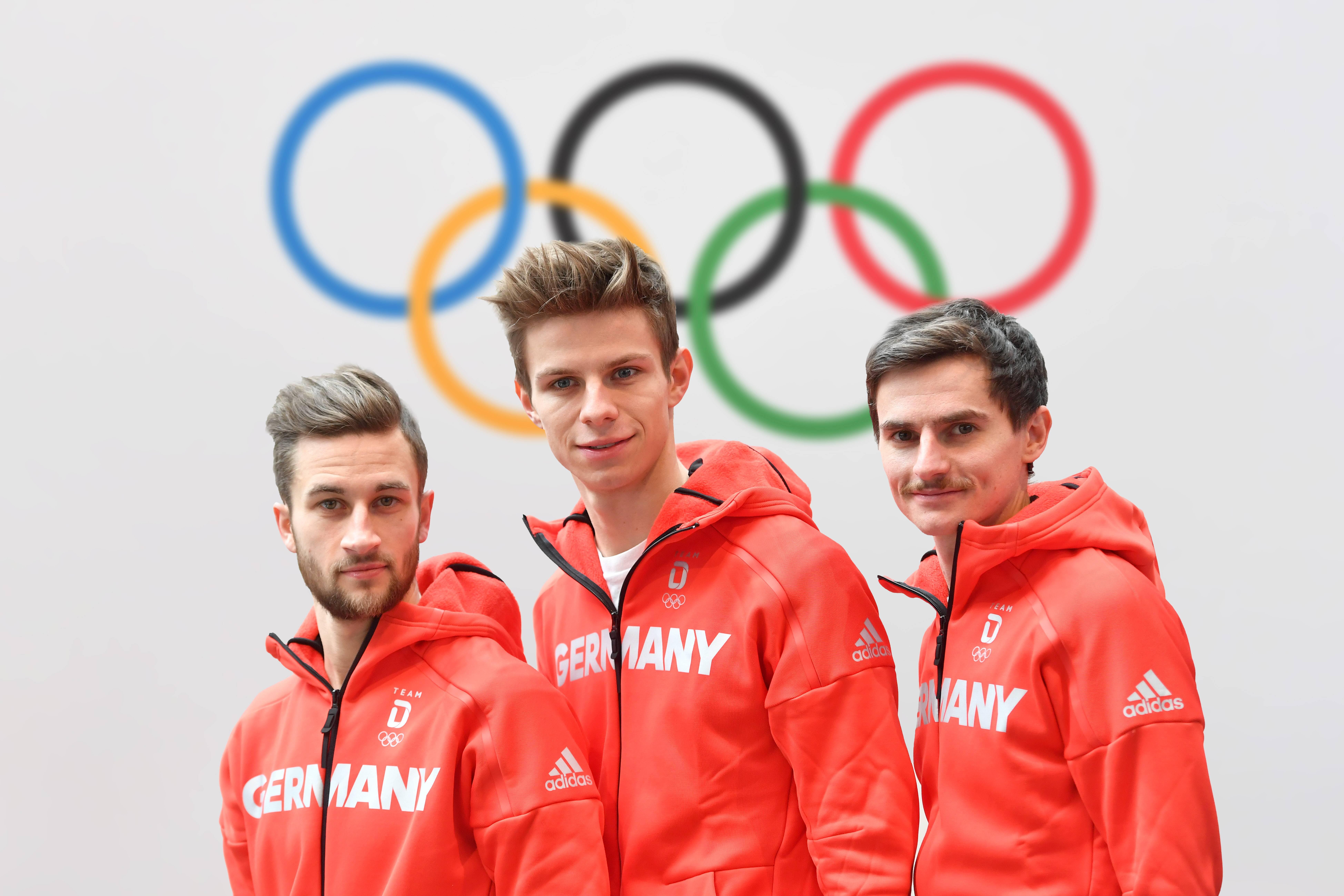 Bild zu Olympia, olympische Spiele, Pyeongchang, Einkleidung