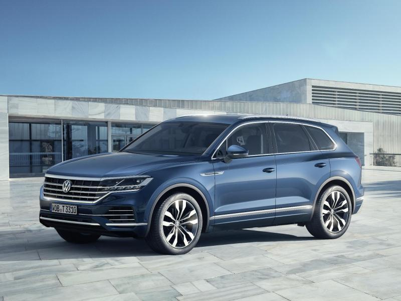 Bild zu Neuer VW Touareg