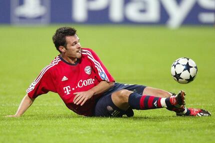 Willy Sagnol, FC Bayern München, Champions League, Olympiastadion, 2003/04