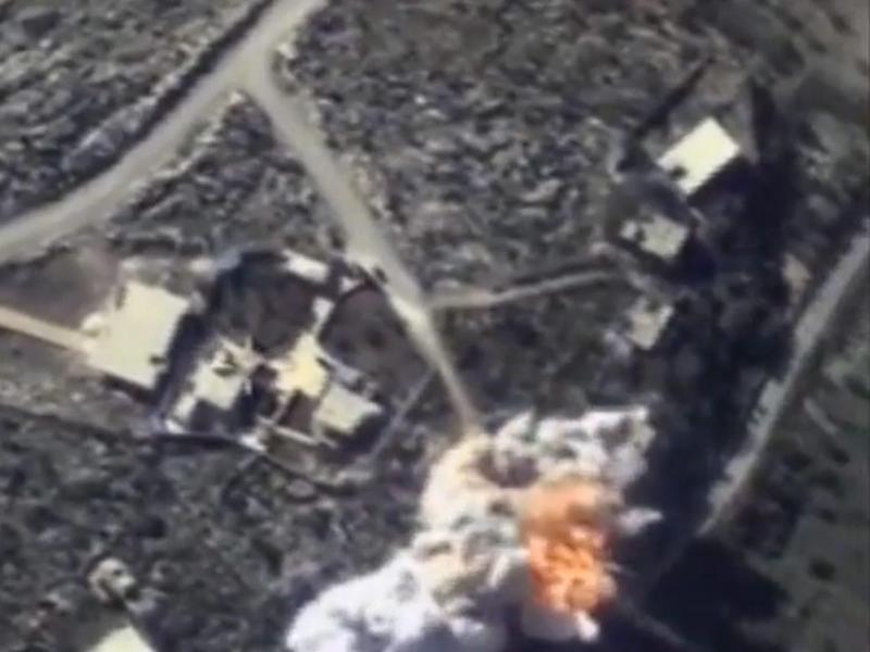 Bild zu Luftangriff