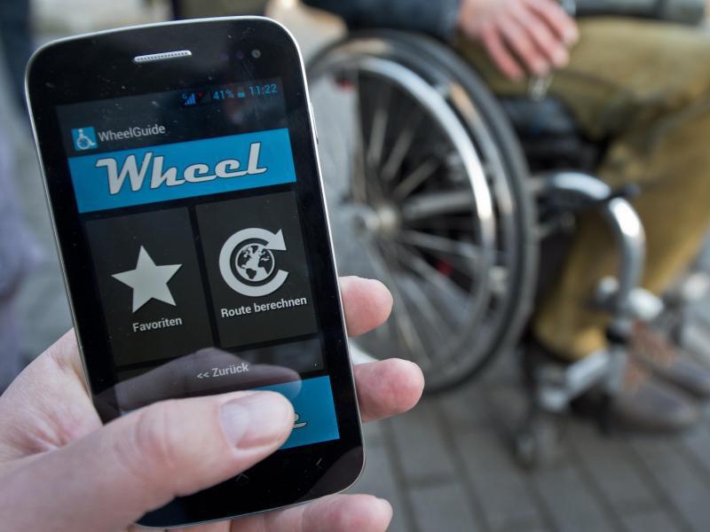 Bild zu Rollstuhlfahrer-App