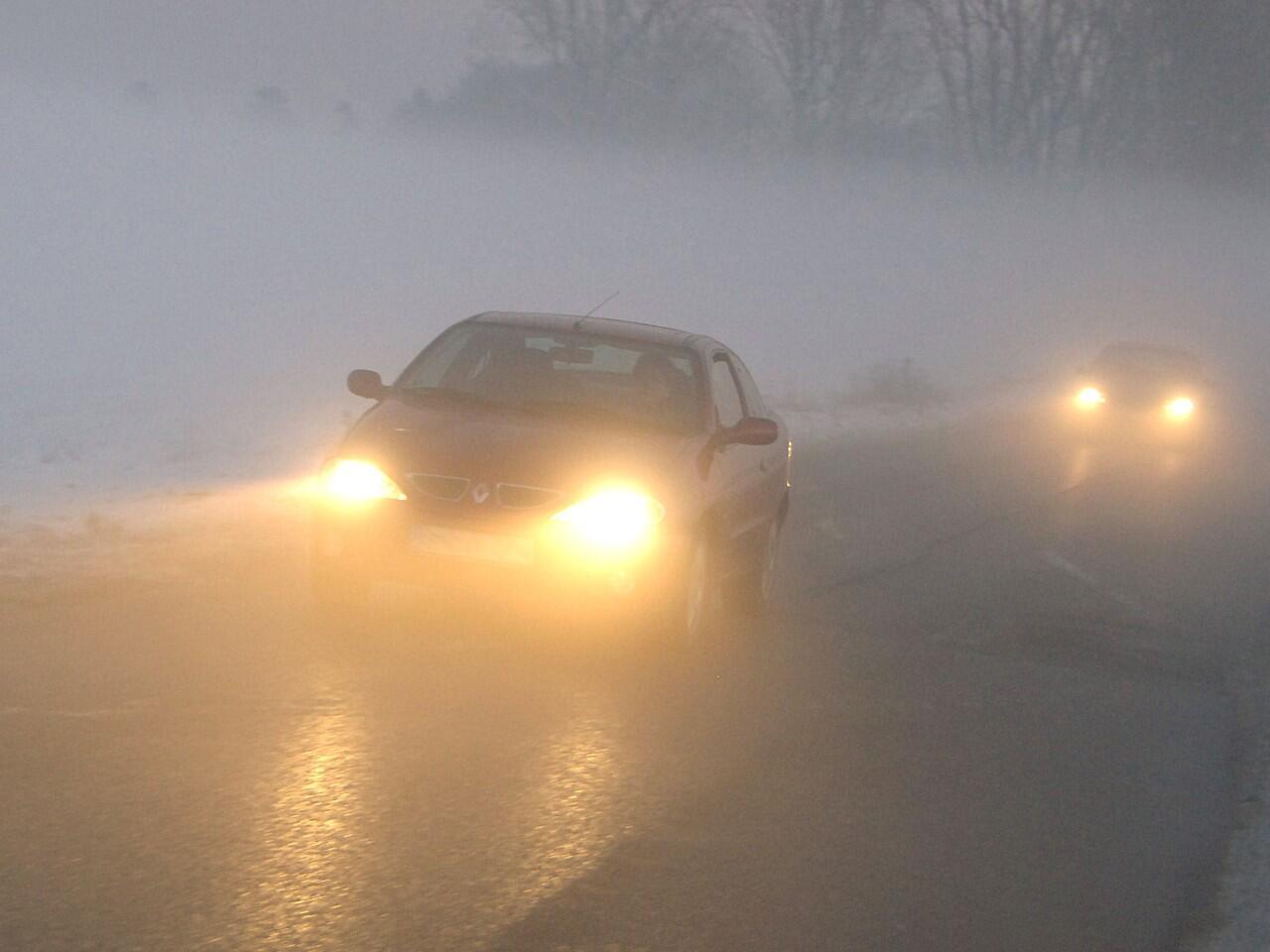 Bild zu Autofahren bei Nebel