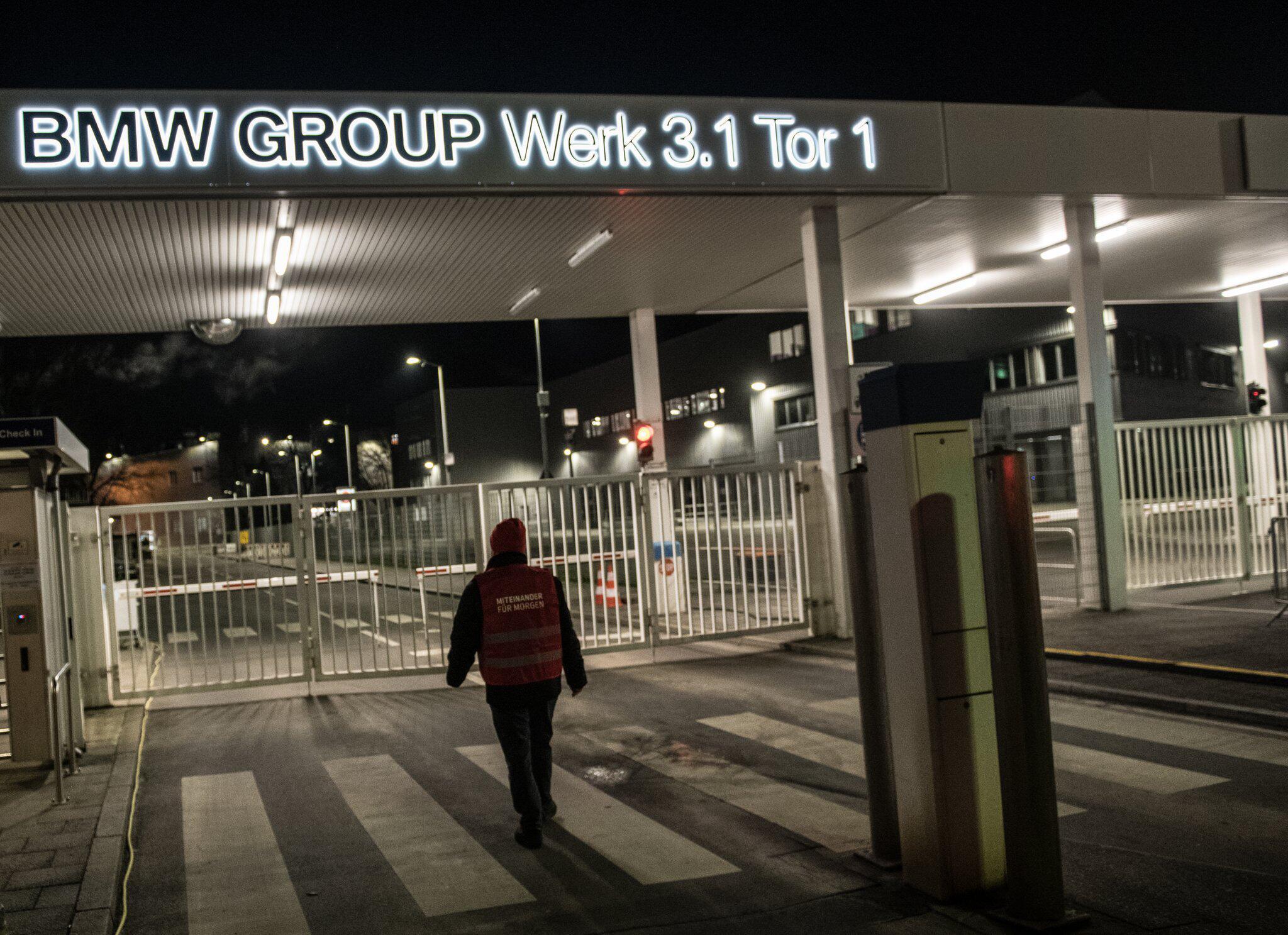 Bild zu 24 Stunden-Warnstreik der IG Metall