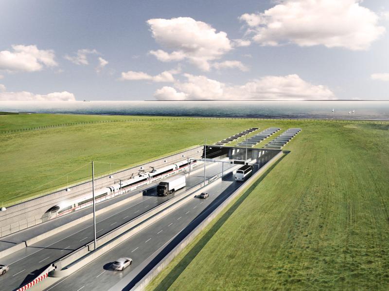 Bild zu Geplanter Fehmarnbelt-Tunnel