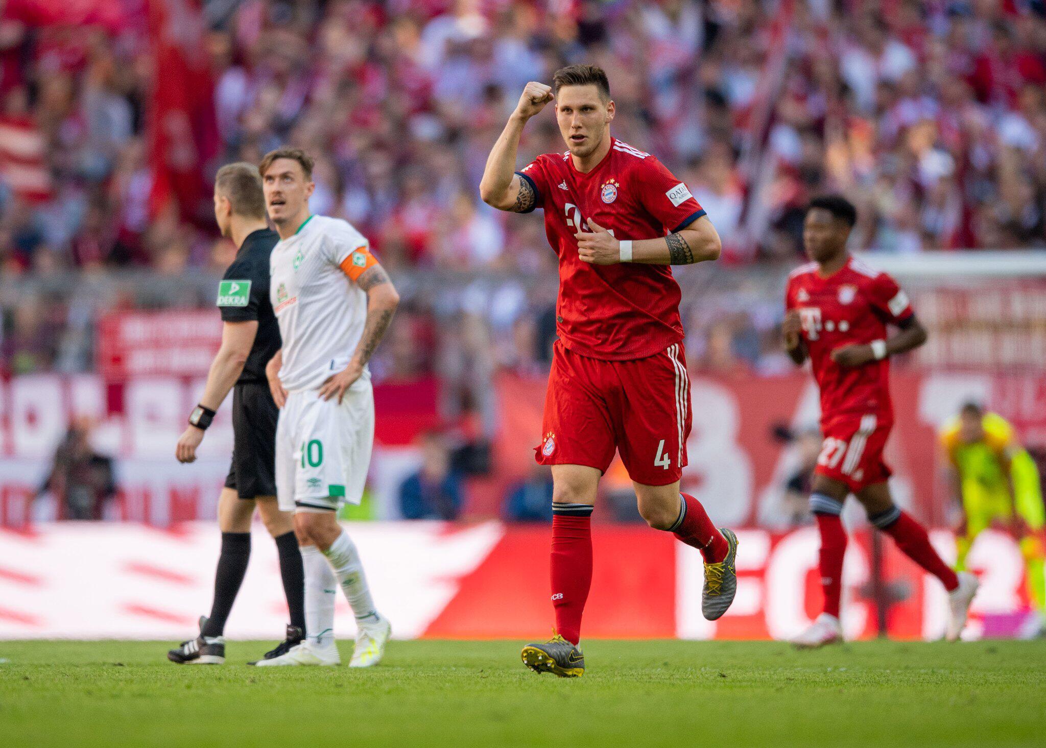 Bild zu FC Bayern Munich - Werder Bremen