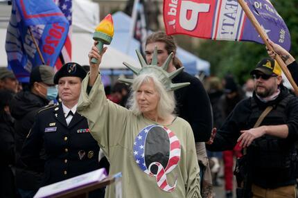 Proteste gegen US-Wahlergebnisse