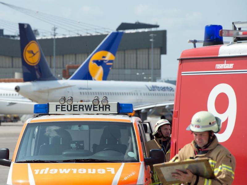 Bild zu Notfallübung am Flughafen Tegel