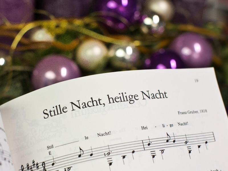 Bild zu Weihnachtslied «Stille Nacht»