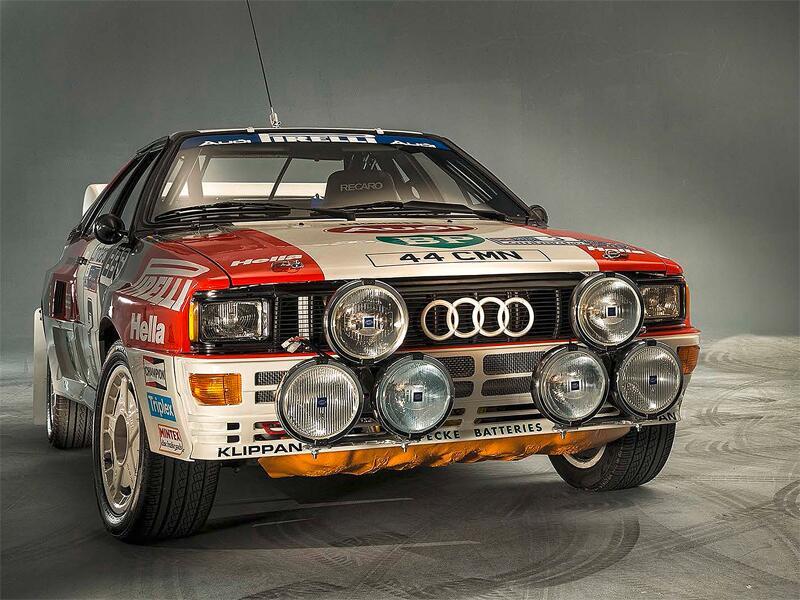 Bild zu Audi Rallye quattro A2