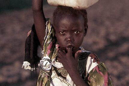 Kind im Sudan