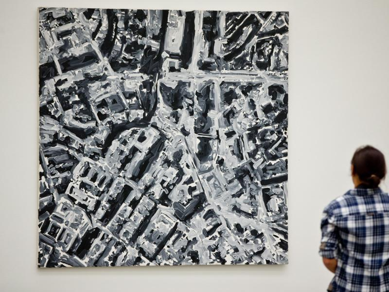 gerhard richter im neuen museum in n rnberg web de. Black Bedroom Furniture Sets. Home Design Ideas