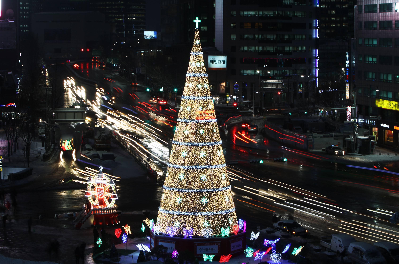 Bild zu Weihnachtsbaum Korea Titel