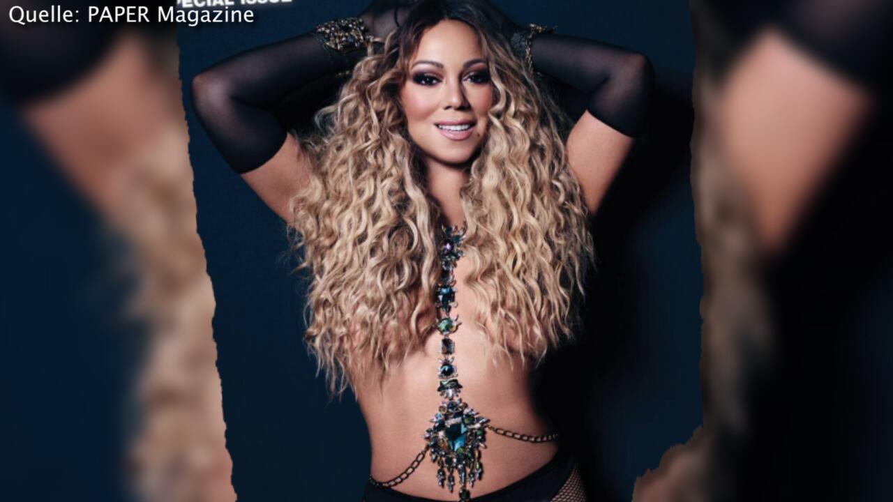 Bild zu Photoshop-Panne – Mariah Carey unter Beschuss
