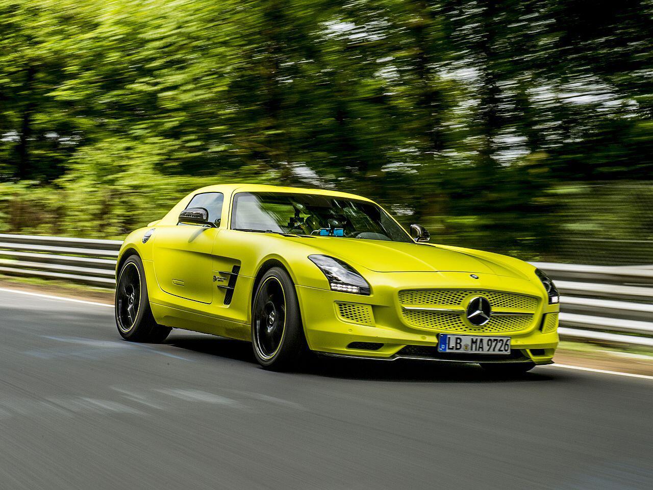 Bild zu Mercedes SLS AMG Electric Drive