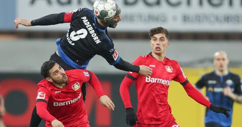 SC Paderborn 07 - Bayer Leverkusen