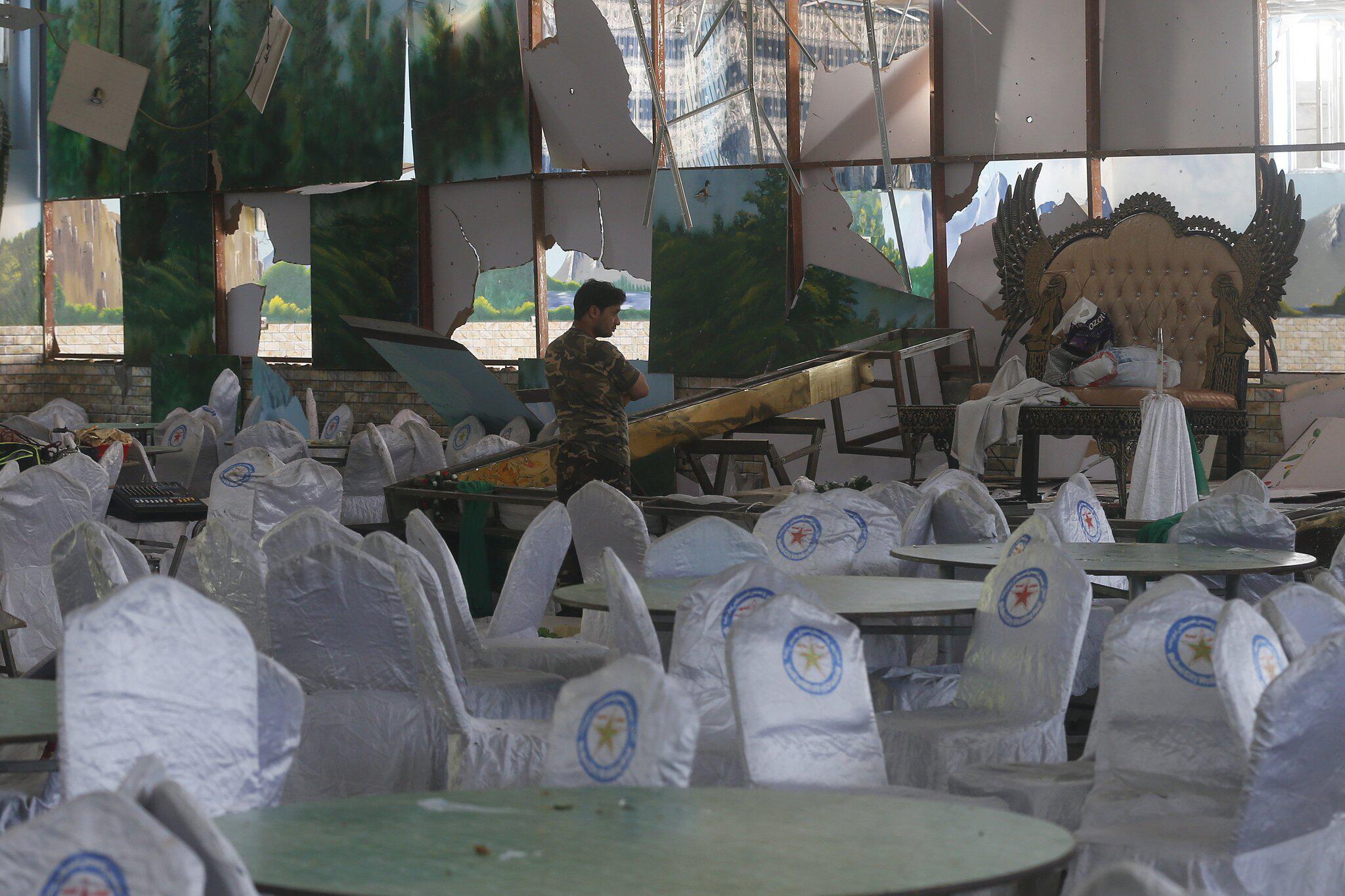 Bild zu Explosion in Hochzeitshalle in Kabul
