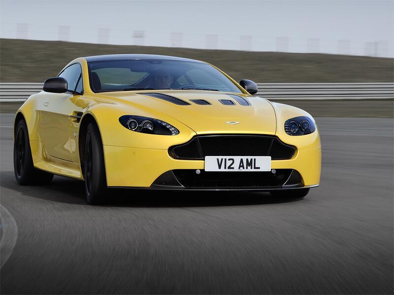 Bild zu Aston Martin V12 Vantage S