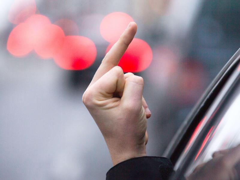 Bild zu Aggression im Straßenverkehr