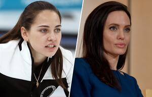 Russische Angelina Jolie des Curlings begeistert Olympia-Fans