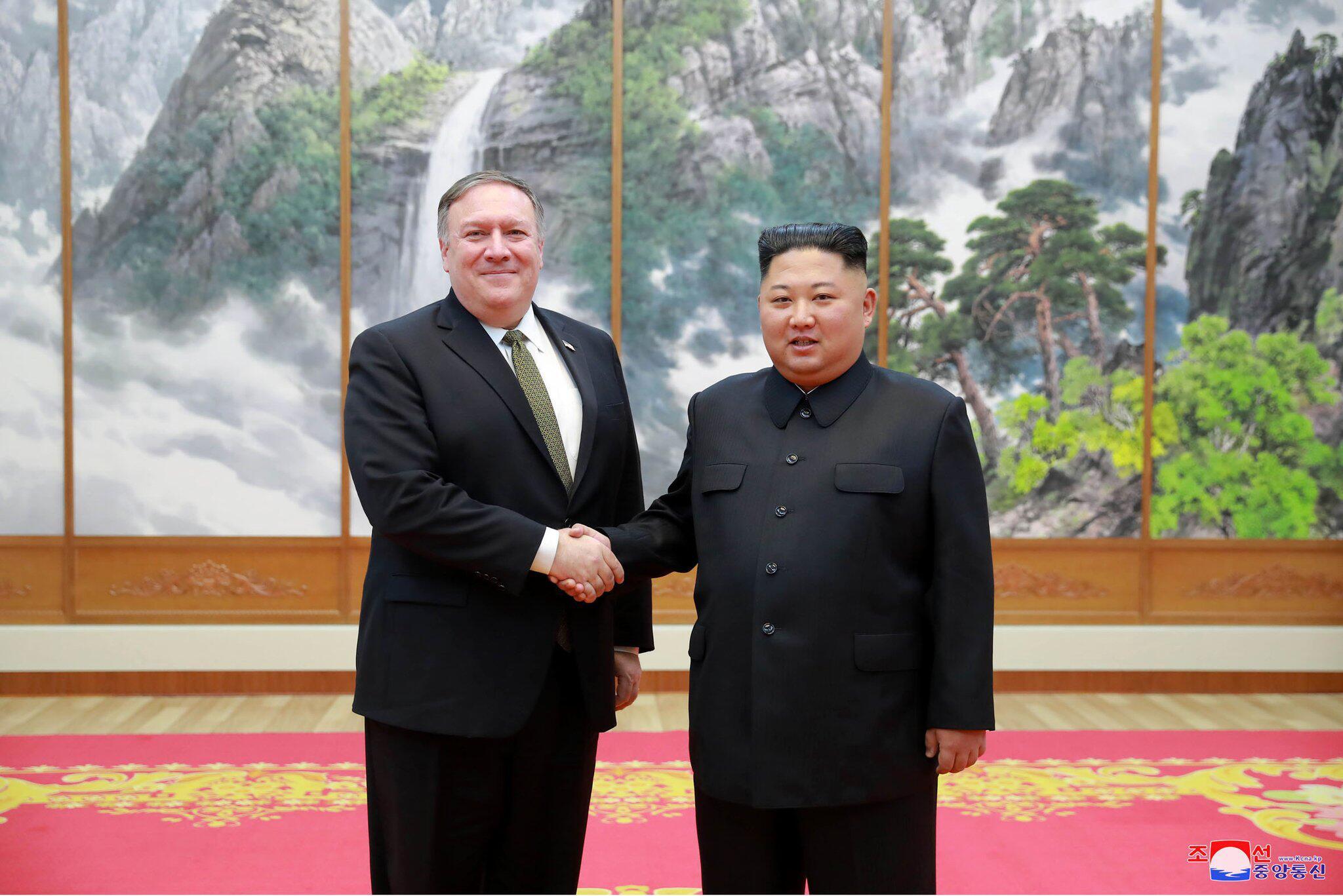 Bild zu Außenminister der USA Pompeo besucht Nordkorea