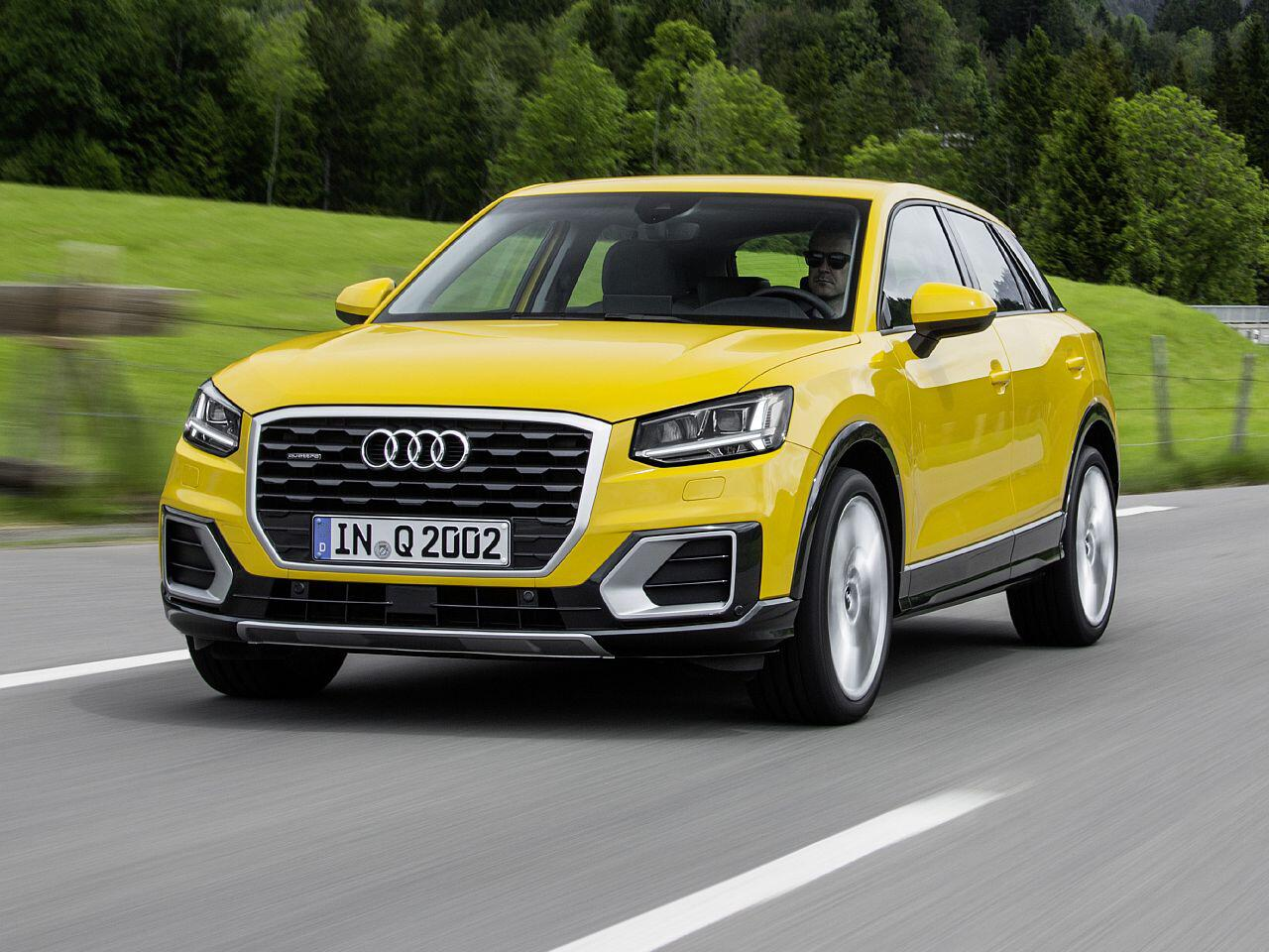 Bild zu Platz 8: Audi Q2