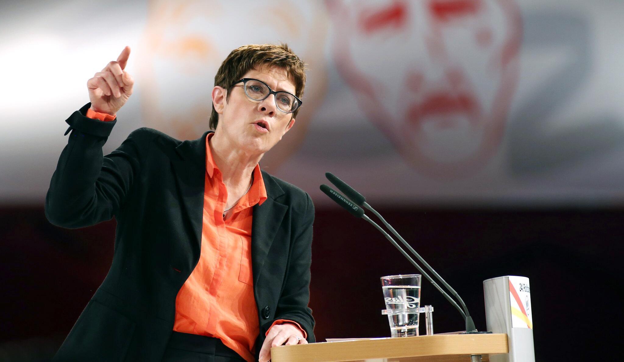 Bild zu Political Ash Wednesday in Demmin - CDU
