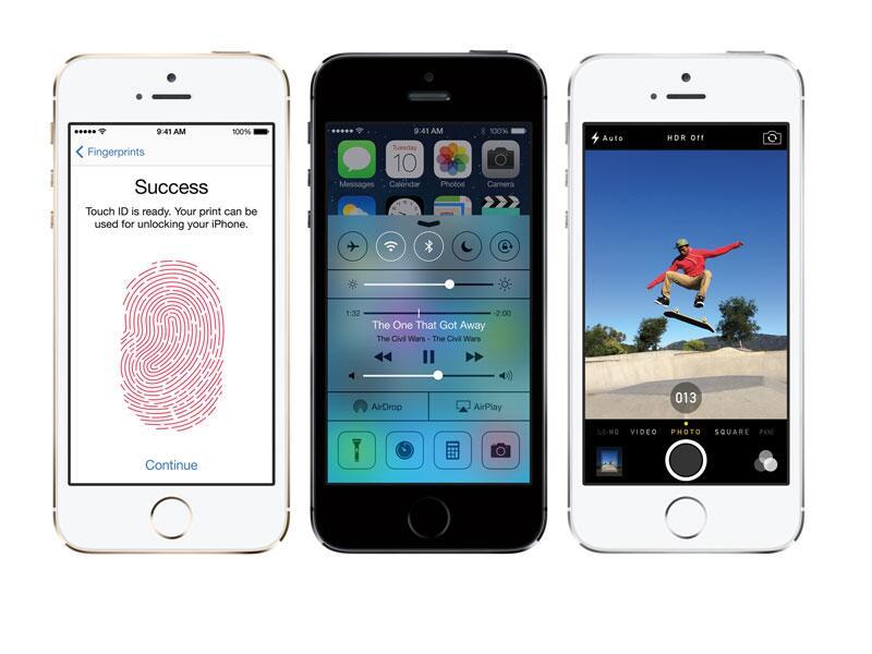 Bild zu iPhone 5S mit iOS 7
