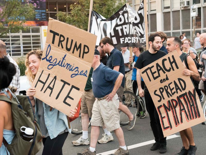 Bild zu Protest in Philadelphia