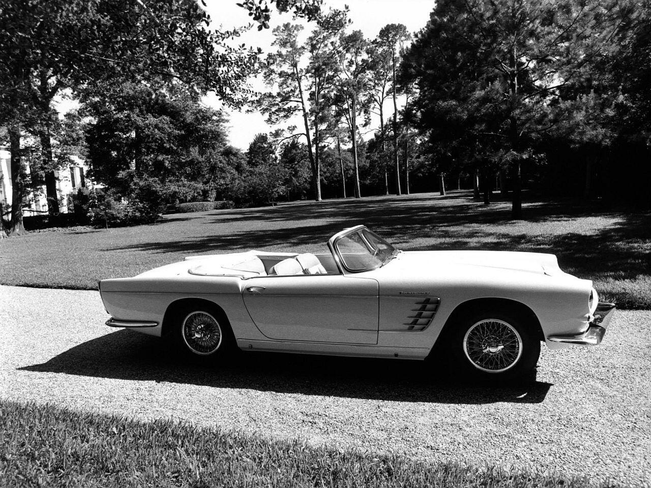 Bild zu Maserati 3500 GT Spyder Frua von 1959