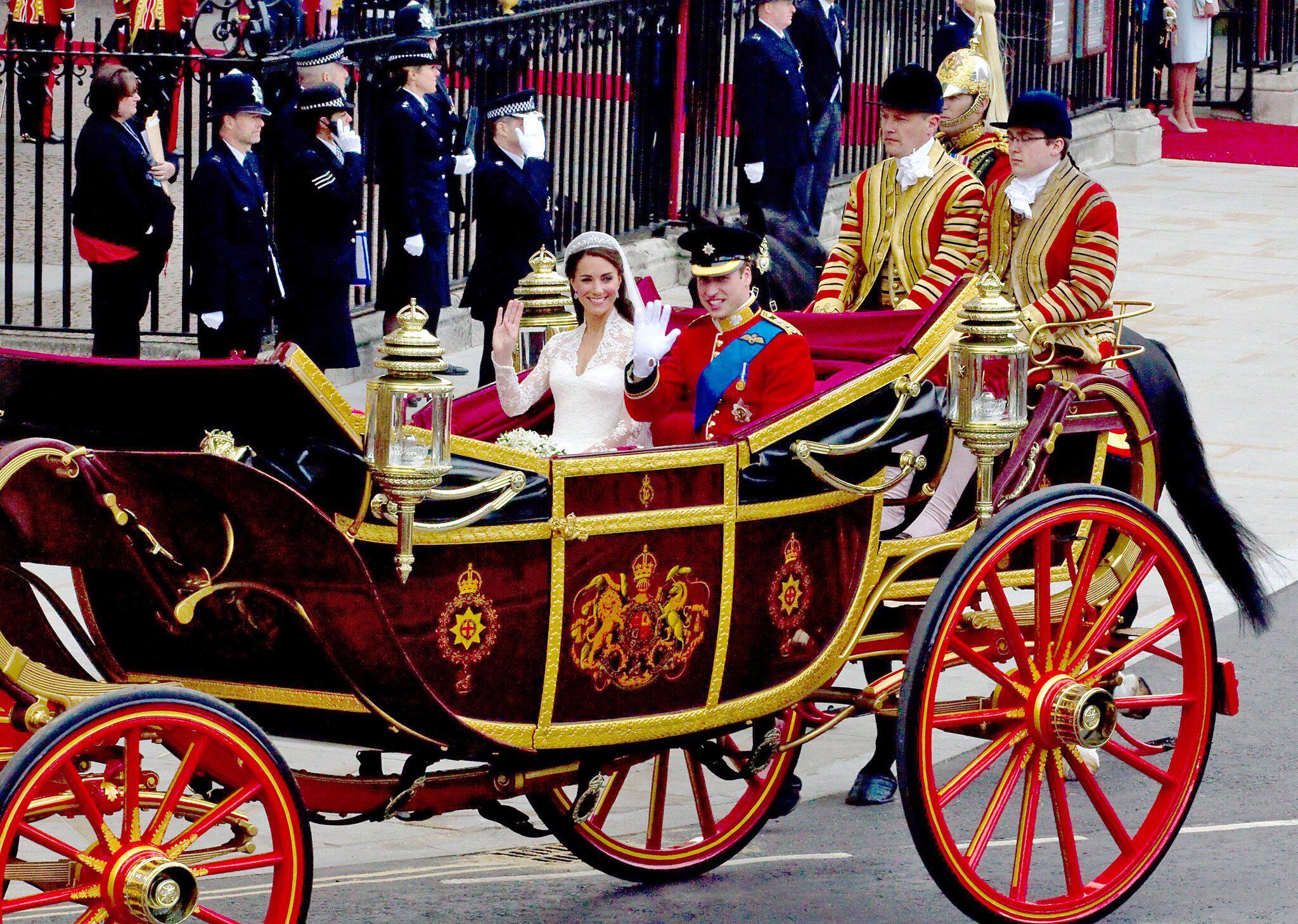 Bild zu Hochzeit Prinz William und Kate