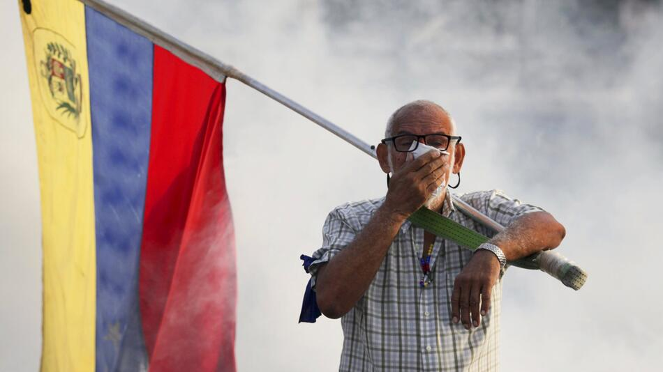 Krise in Venezuela - Aufstand