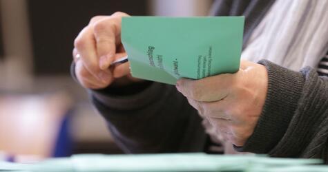 Stichwahlen Nordrhein-Westfalen - Stimmauszählung