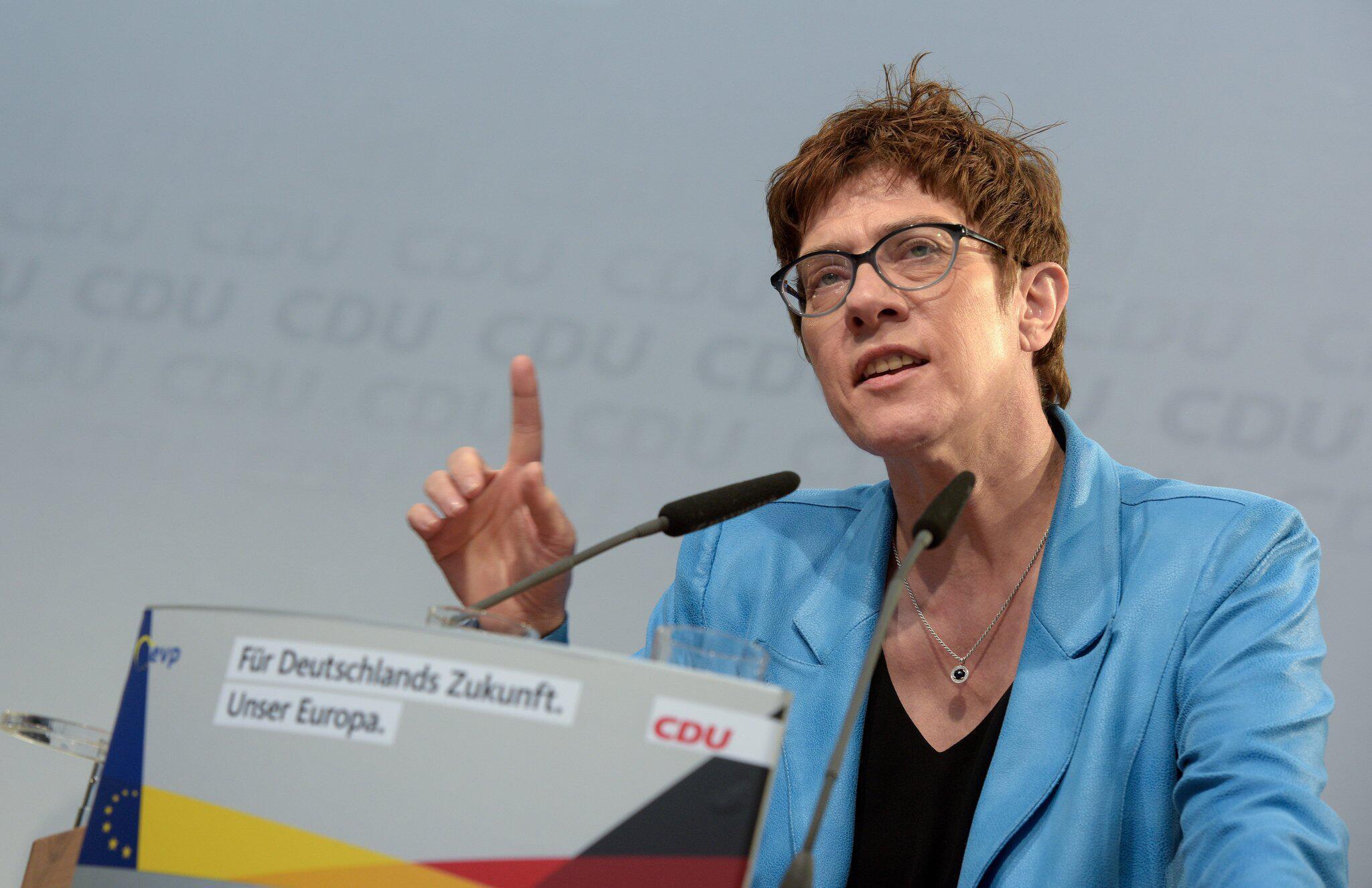 Bild zu CDU/CSU rally on European elections