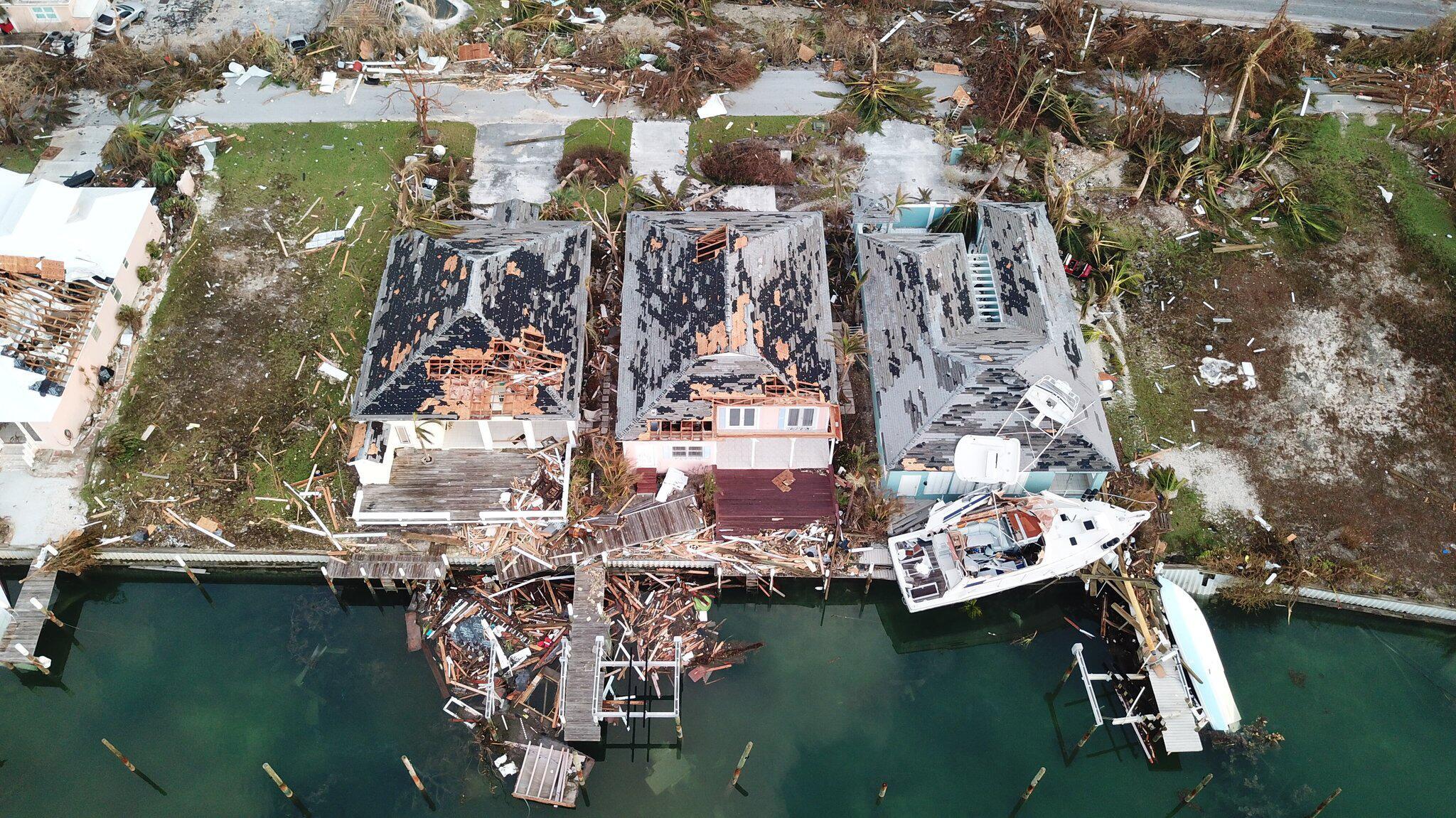 Bild zu Hurrikan «Dorian» - Bahamas