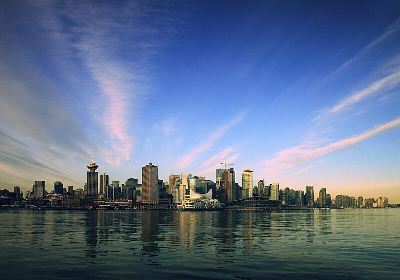 Bild zu Sehenswürdigkeiten in Vancouver: Skyline