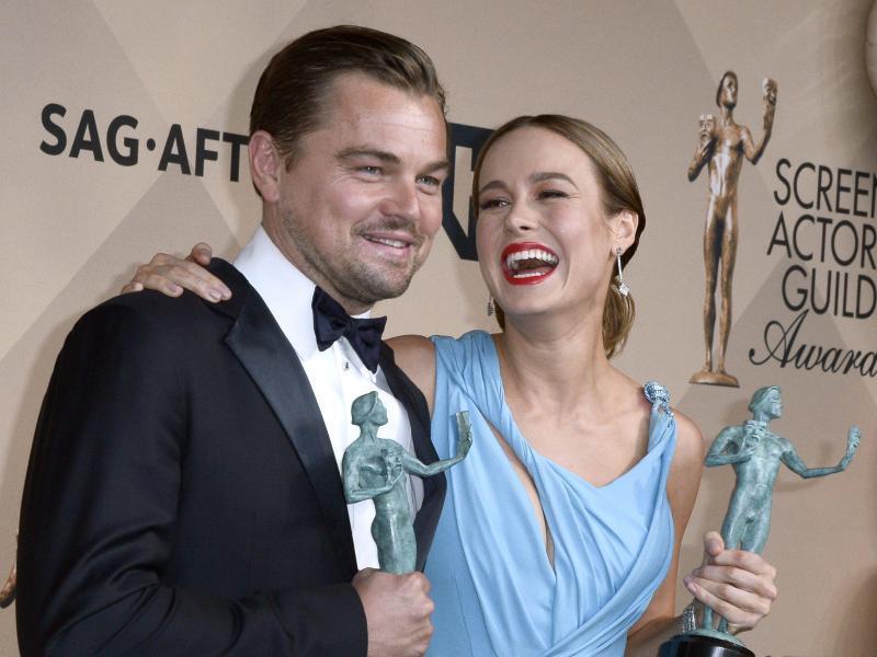 Bild zu Leonardo DiCaprio & Brie Larson