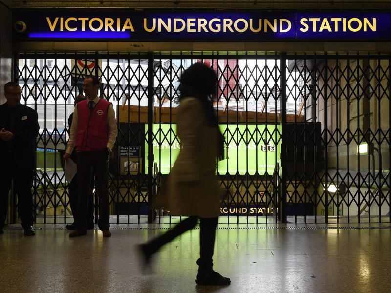 Bild zu Londoner U-Bahn