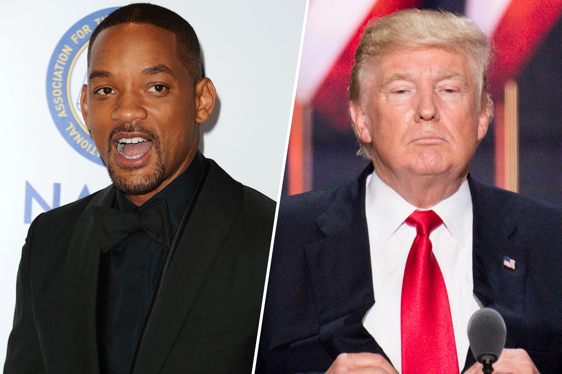 Bild zu Will Smith, Donald Trump, Kritik