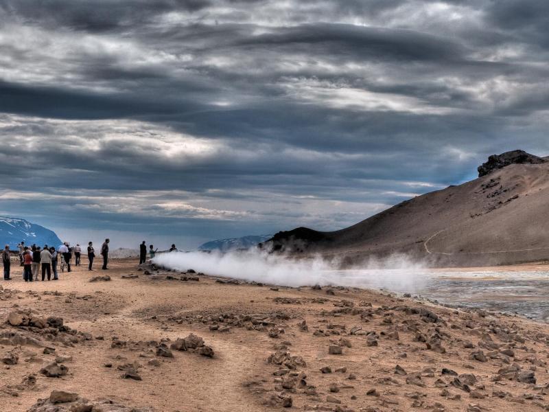 Bild zu Sandige Landschaft