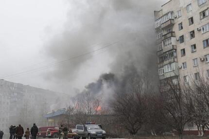 Mariupol unter Beschuss